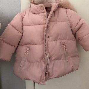 Zara baby puffer jacket